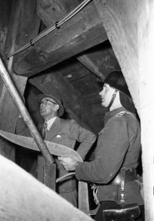 ARH Slg. Fritsche 54, Feuerwehrübung im Kirchturm, Burgdorf, ohne Datum