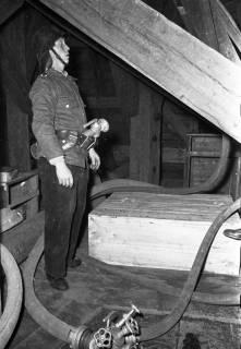 ARH Slg. Fritsche 55, Feuerwehrübung im Kirchturm, Burgdorf, ohne Datum