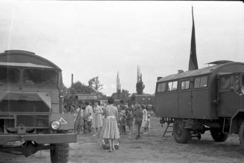 ARH Slg. Fritsche 58, Werbeschau der Bundeswehr auf dem Schützenplatz, Burgdorf, ohne Datum