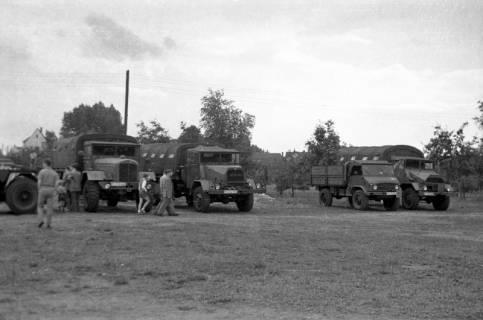 ARH Slg. Fritsche 62, Werbeschau der Bundeswehr auf dem Schützenplatz, Burgdorf, zwischen 1965/1970
