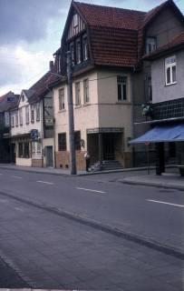 ARH Slg. Fritsche 72, Marktstraße Ecke Wallstraße mit dem Schuhhaus Goslar, Burgdorf, ohne Datum