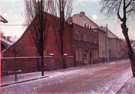 ARH Slg. Fritsche 76, Gartenstraßee mit der Volksschule II, Burgdorf, ohne Datum