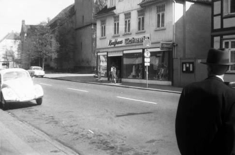 ARH Slg. Fritsche 77, Marktstraße mit dem Kaufhaus Scheele, Burgdorf, ohne Datum
