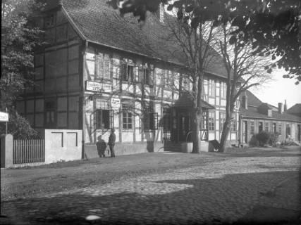 ARH Slg. Grabenhorst 22, Gasthaus zum Stern in der Hannoverschen Straße 1, Neustadt a. Rbge., vor 1924
