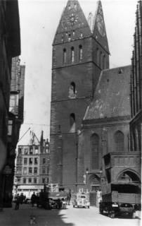 ARH Slg. Janthor 0004, Marktkirche, Hannover, 1944
