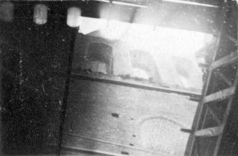 ARH Slg. Janthor 0011, Blick in die oberen Ebenen des Turmes der Marktkirche, Hannover, 1943
