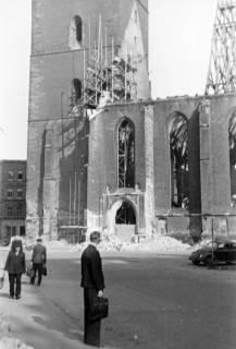 ARH Slg. Janthor 0020, Wiederaufbau der Marktkirche, Hannover, 1947