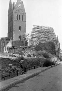 ARH Slg. Janthor 0021, Wiederaufbau der Marktkirche, Hannover, 1947