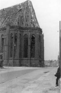 ARH Slg. Janthor 0022, Wiederaufbau der Marktkirche, Hannover, 1947