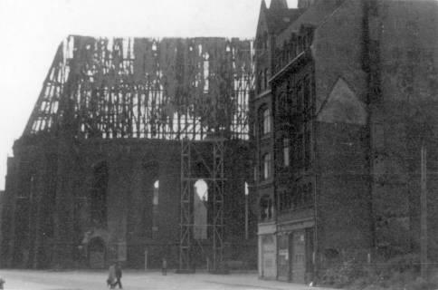 ARH Slg. Janthor 0023, Wiederaufbau der Marktkirche, Hannover, 1947