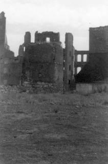 ARH Slg. Janthor 0030, Borgentrick-Turm in der zerstören Innenstadt, Hannover, 1945