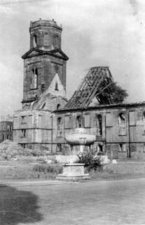 ARH Slg. Janthor 0058, Neustädter Markt und Kirche, Hannover, 1945
