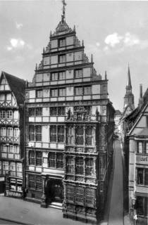 ARH Slg. Janthor 0172, Leibnizhaus, Hannover, vor 1945
