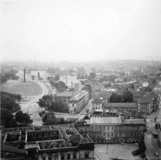 ARH Slg. Janthor 0187, Blick von der Marktkirche in Richtung Waterlooplatz, Hannover, ohne Datum