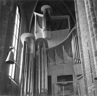 ARH Slg. Janthor 0190, Orgel in der Marktkirche, Hannover, nach 1954