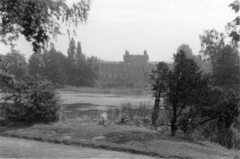 ARH Slg. Janthor 0196, Landesmuseum und Maschpark, Hannover, 1945
