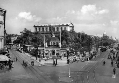 ARH Slg. Janthor 0202, Georgstraße mit Café Kröpcke, Hannover, vor 1945