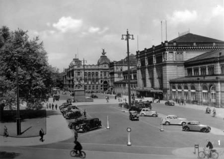 ARH Slg. Janthor 0203, Ernst-August-Platz, Hannover, vor 1945