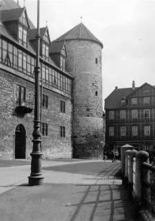 ARH Slg. Janthor 0219, Am Hohen Ufer und Beginenturm, Hannover, vor 1944