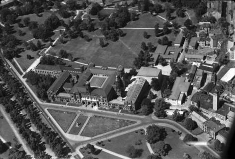ARH NL Koberg 8, Hauptgebäude der Leibnitz-Universität Hannover, 1959