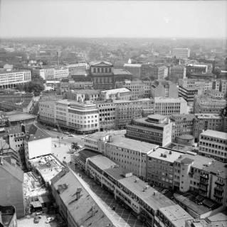ARH NL Koberg 12, Blick von der Marktkirche auf die Marktstraße, 1962